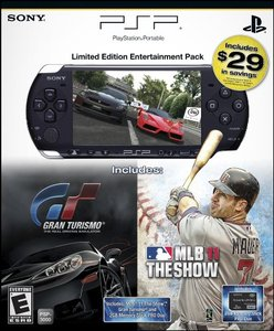 PSP 3000 Father's Day Bundle with MLB 11: The Show, Gran Turismo, 2GB Memory Stick
