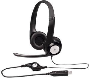 Logitech H390 ClearChat Comfort USB Headset (Refurbished)