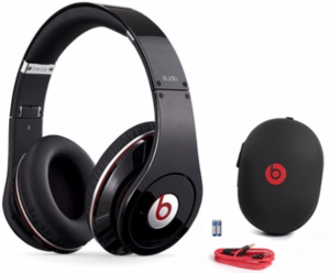 Beats by Dr. Dre Studio Wired Headphones (Refurbished)