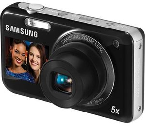 Samsung PL120 14MP DualView Digital Camera