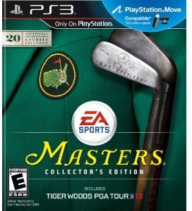 Tiger Woods PGA Tour 13: The Masters Collector's Edition (PS3)