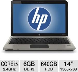 HP Pavilion dm4-2180us Core i5-2430M 2.4GHz, 6GB RAM, 640GB HDD