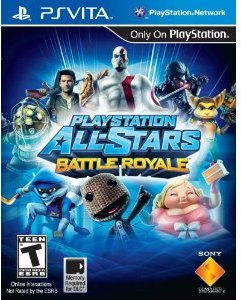 Playstation All Stars Battle Royale (PS Vita)