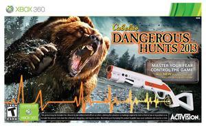 Cabela's Dangerous Hunts 2013 with Gun (Xbox 360)