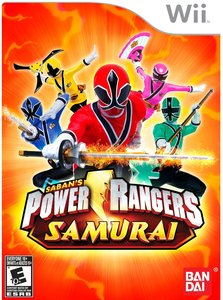 Power Rangers Samurai (Wii) - Pre-owned