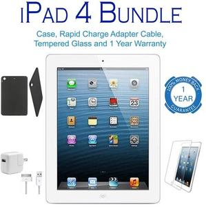Apple iPad 4 Retina Display 16GB WiFi Bundle (Refurbished)