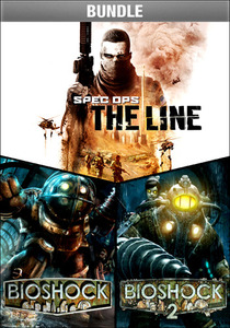 BioShock, BioShock 2, and Spec Ops: The Line Bundle (PC Download)