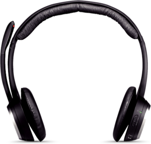 Logitech ClearChat PC Wireless Headset (Refurbished) + FREE Cresyn Headphones