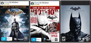 Batman Triple Pack (PC Download)