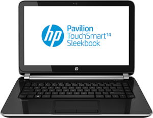 HP Pavilion TouchSmart 14z-f000 Sleekbook Quad Core AMD A4-5000