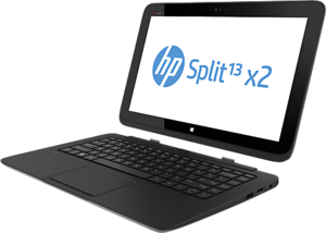 HP Split 13 x2 Touch, Core i3-4010Y, 128GB SSD (Refurbished)