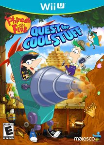 Phineas and Ferb Quest for Cool Stuff (Wii U)