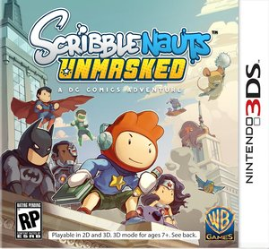 Scribblenauts Unmasked: A DC Comics Adventure (Nintendo 3DS)