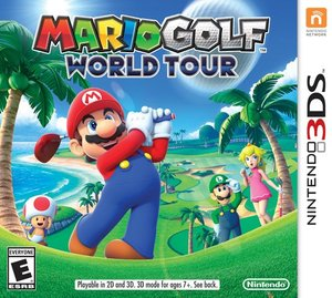 Mario Golf: World Tour (Nintendo 3DS) - Pre-owned