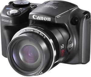 Canon PowerShot SX500 IS 16MP Digital Camera (Refurbished)