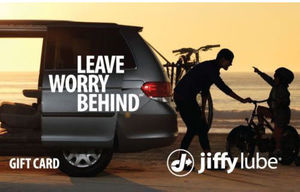 $50 Jiffy Lube Card (Email Delivery)