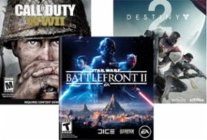 Best Buy: Buy 1, Get 1 50% Off Select PS4 or Xbox One Games (28 Titles)