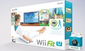 Wii Fit U + Wii Balance Board + Fit Meter