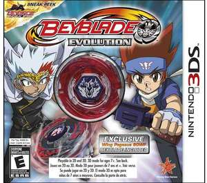 Beyblade: Evolution Collector's Edition (Nintendo 3DS)