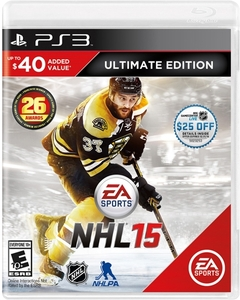 NHL 15 Ultimate Edition (PS3) + $25 eGift Card