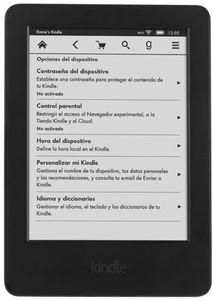 "Amazon Kindle 6"" Glare-Free Touch Wi-Fi eBook eReader"