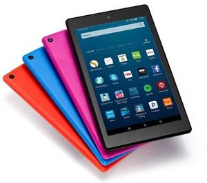 Amazon Fire HD 8-inch 16GB Tablet (8GB or 16GB)