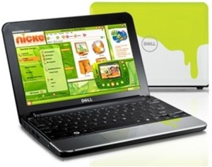 Dell Inspiron Mini 10v Nickelodeon Edition w/ White + Slime Green cover