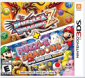 Puzzle & Dragons Z + Puzzle & Dragons: Super Mario Bros. Edition (Nintendo 3DS) - Pre-owned