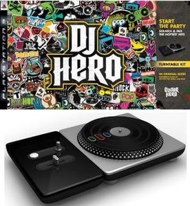 DJ Hero Bundle with Turntable (PS3)