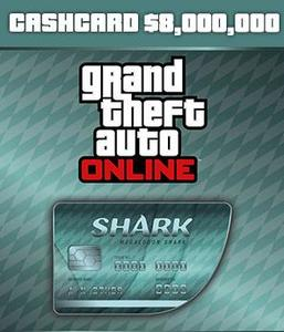 Megalodon Shark Cash Card ($8,000,000 - PC)