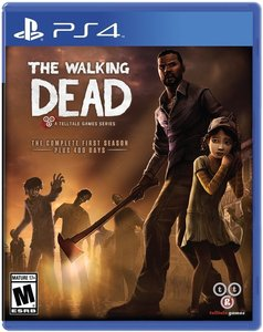 The Walking Dead: Complete First Season (PS4 Download) - PS Plus Required