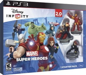 Disney Infinity: Marvel Super Heroes 2.0 Starter Pack Collector's Edition (PS3)