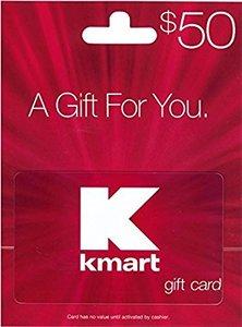 $50 Kmart Gift Card