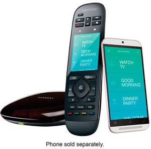 Logitech Harmony Ultimate Home Universal Remote Control + Hub (Refurbished)