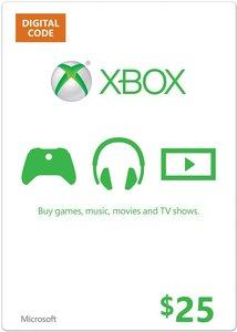 $25 Xbox Gift Card (Digital Code)
