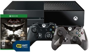 Xbox One Rise of the Tomb Raider 1TB Bundle + Batman Arkham Knight + Mad Max + Extra Controller + Battery Charging Station + $50 Gift Card