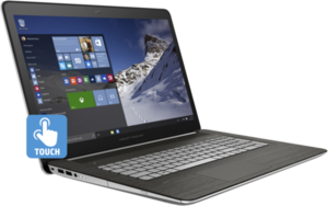 HP Envy 17t Touch, Core i7-6500U, 16GB RAM, 256GB SSD, GeForce GTX 940MX, 4K 2160p Touch Display