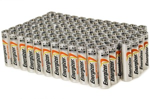 Energizer Advanced AA Alkaline Batteries (100 Pack)