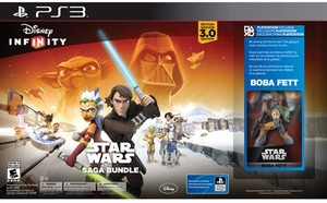 Disney Infinity: 3.0 Edition Starter Pack - Star Wars Saga Bundle (PS3)