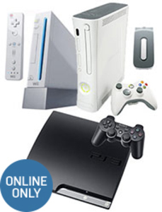 3-Console Bundle (Pre-owned): PS3 + Xbox 360 + Wii + Accessories
