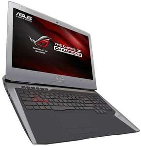 Asus G752VT-TH71 Core i7 6700HQ Skylake, 24GB RAM, GeForce GTX 970M, Full HD IPS 1080p, Blu-ray
