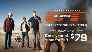 20% Off Amazon Prime 1-Year Subscription (New Members Only)