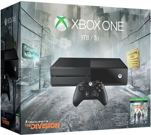 Xbox One 1TB The Division Bundle + Extra Controller + Free Game