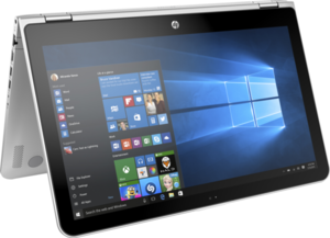 HP Pavilion x360 Touch, Core i3-7100U, 4GB RAM