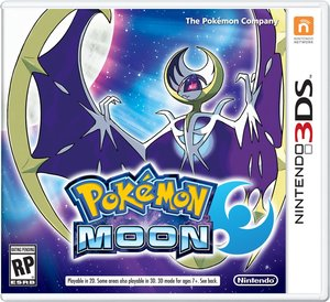 Pokemon Moon (Nintendo 3DS - Requires GCU)
