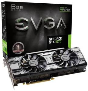 EVGA GeForce GTX 1070 Gaming ACX 3.0 8GB GDDR5 Graphics Card