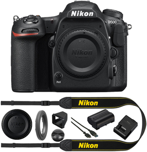 Nikon D500 DSLR Camera (Body Only, Refurbished)