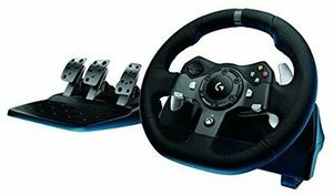 Logitech G920 Driving Force Racing Wheel with Floor Pedals (Xbox One/PC)