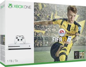 Xbox One S 1TB FIFA 17 Bundle + Free Game