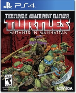 Teenage Mutant Ninja Turtles: Mutants in Manhattan (PS4) - Pre-owned